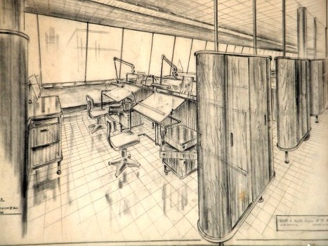 rare architectural drawings and blueprints for sale